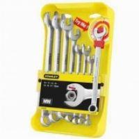 """Набор ключей гаечных комбинированных STANLEY""""Ratcheting Wrench"""","""